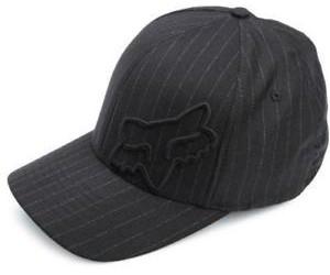 Кепка FOX Flex 45 FLEXFIT HAT [Black Pinstripe] фото, купить, киев, запорожье