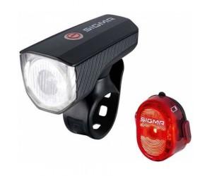 Комплект фонарей AURA 40 K-SET Sigma Sport фото, купить, киев, запорожье
