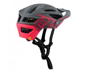 Вело шлем TLD A2 Mips [DARK GRAY / FLO PINK]