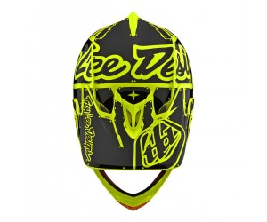 Вело шлем TLD D3 Fiberlite [Factory FLO Yellow]