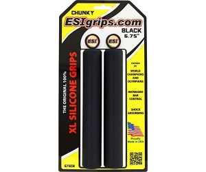 Грипсы ESI XXL 8.25 Chunky (черные) фото, купить, киев, запорожье