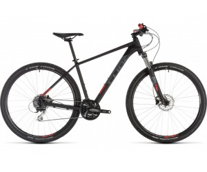 Велосипед Cube Aim RACE 27.5 (black´n´red) 2019 года