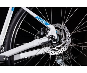 Велосипед Cube Aim RACE 27.5 (white´n´blue) 2019 года