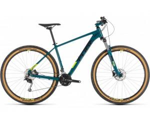 Велосипед Cube Aim SL 29 (pinetree´n´flashyellow) 2019 года фото, купить, киев, запорожье