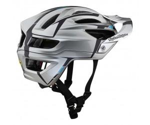 Вело шлем TLD A2 MIPS HELMET [SLIVER SILVER / BURGUNDY]