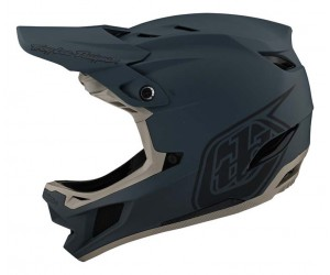 Вело шлем фуллфейс TLD D4 Composite [STEALTH GRAY]
