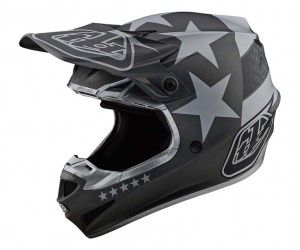 Мотошлем TLD SE4 POLYACRYLITE [FREEDOM BLACK / GRAY]