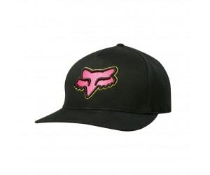 Кепка FOX EPICYCLE FLEXFIT HAT [BLK/PNK]