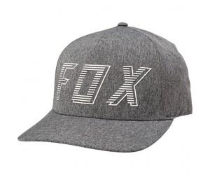 Кепка FOX BARRED FLEXFIT HAT [DRK GRY]