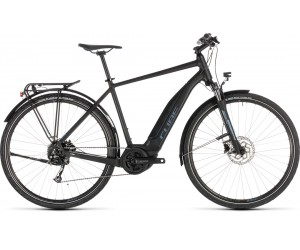 Велосипед Cube Touring Hybrid ONE 400 (black´n´blue) 2019