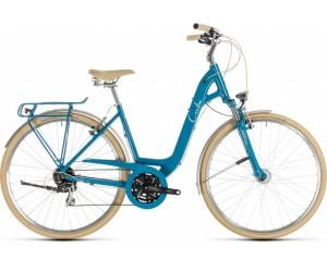 Велосипед Cube Ella Ride (blue´n´cream) 2019 год фото, купить, киев, запорожье