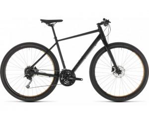 Велосипед Cube Hyde (black´n´yellow) 2019
