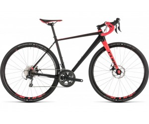 Велосипед Cube NUROAD WS (black´n´coral) 2019 года