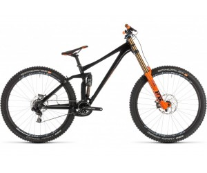 Велосипед Cube TWO15 SL (black´n´orange) 2019 год фото, купить, киев, запорожье