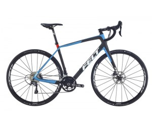 Велосипед Felt VR3 (matte carbon blue red)