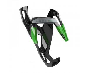 Флягодержатель ELITE CUSTOM RACE Plus черно/зеленый
