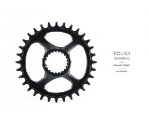 Звезда Garbaruk круг (ROUND) Direct Mount Shimano (M7100/M8100/M9100)