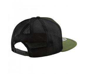 Кепка TLD RC Cali Snapback HAT [BLACK / RIFLE GREEN]