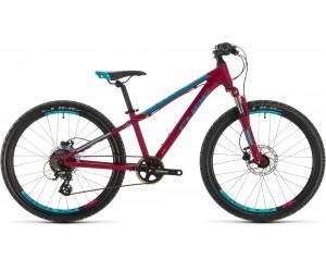 Детский велосипед Cube ACCESS 240 DISC 24 (berry´n´aqua´n´pink) 2020 год