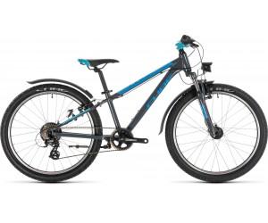 Детский велосипед Cube ACCESS 240 ALLROAD 24 (grey´n´blue´n´pink) 2020 год