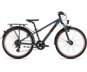 Детский велосипед Cube ACID 240 STREET 24 (darkgrey´n´red) 2020 год