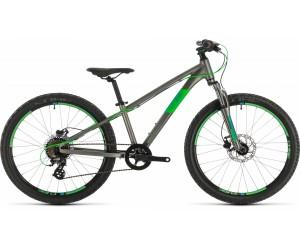 Детский велосипед Cube ACID 240 DISC 24 (grey´n´neongreen) 2020 год
