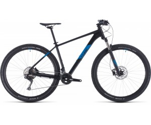 Велосипед Cube ATTENTION SL 27.5 (black´n´blue) 2020