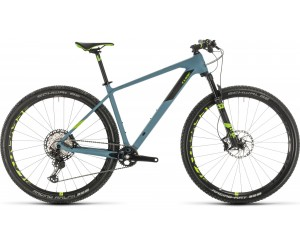 Велосипед Cube REACTION C:62 SL 29 (greyblue´n´green) 2020