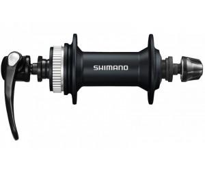 Втулка передняя Shimano HB-M615, для диск торм, 32сп, черн, CENTER LOCK
