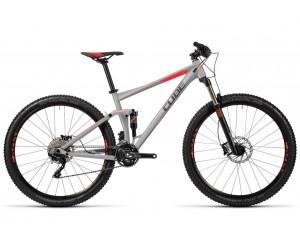 Велосипед CUBE STEREO 120 HPA PRO (grey flashred) 2016 год фото, купить, киев, запорожье
