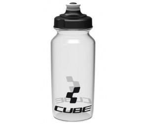 Велосипедная фляга Cube Bottle 500 ml Icon Transparent фото, купить, киев, запорожье