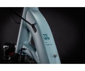 Велосипед Cube Town Pro blue´n´grey 2021 год