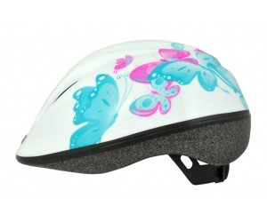 Шлем Longus KIDS белый Butterfly фото, купить, киев, запорожье