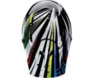 Rampage Helmet бело-синий, размер XL