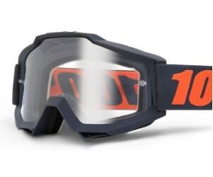 Мото очки 100% ACCURI ENDURO Goggle - Clear Dual Lens фото, купить, киев, запорожье