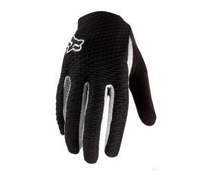 Вело перчатки FOX Attack Glove черно-белые