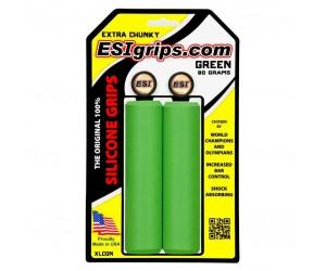 Грипсы ESI Extra Chunky Green (зеленые)
