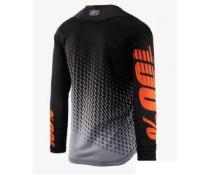 Вело джерси Ride 100% R-Core SUPRA DH LS Jersey Black/Grey