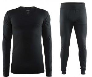 Комплект мужского турмобелья CRAFT Active Comfort SET Man (1903716/1903717) black фото, купить, киев, запорожье