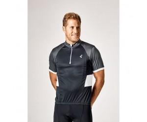Велосипедная футболка CUBE Tour Trikot CHALLENGE kurzarm black