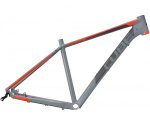 Велосипедная рама CUBE Acid grey´n´flashorange фото, купить, киев, запорожье