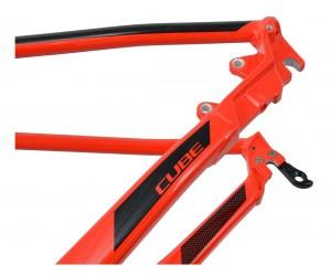 Велосипедная рама CUBE Aim SL red'n'black