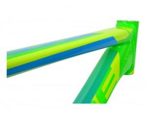 Велосипедная рама CUBE Aim SL green'n'blue