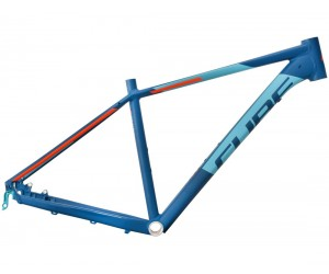 Велосипедная рама CUBE Analog blue´n´flashorange фото, купить, киев, запорожье
