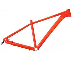 Велосипедная рама CUBE Attention red´n´flashorange фото, купить, киев, запорожье