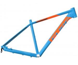 Велосипедная рама CUBE Acid blue´n´flashorange фото, купить, киев, запорожье