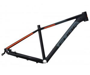 Велосипедная рама CUBE Attention SL black´n´flashorange фото, купить, киев, запорожье