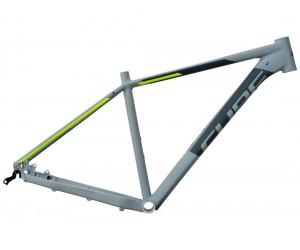 Велосипедная рама CUBE Attention SL grey´n´flashyellow фото, купить, киев, запорожье