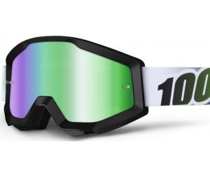 Маска 100% STRATA Goggle - Mirror SIlver Lens