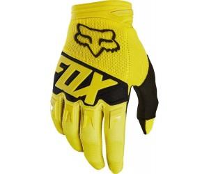 Вело перчатки FOX DIRTPAW RACE Glove желтые фото, купить, киев, запорожье